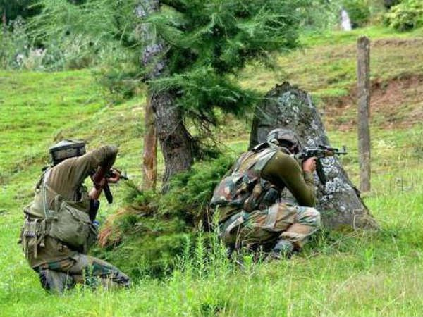 7 naxals killed in an encounter between security forces in Gadchiroli