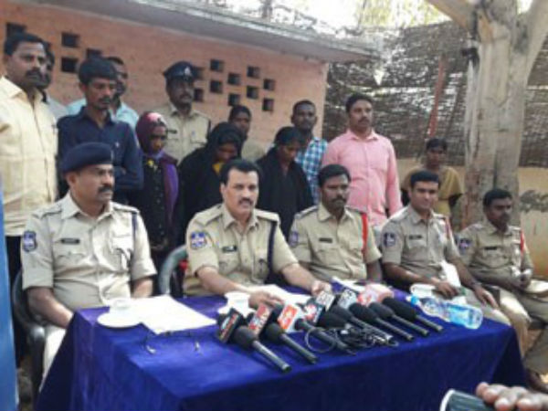 Police Arrests Gold Thieves in Gadwal