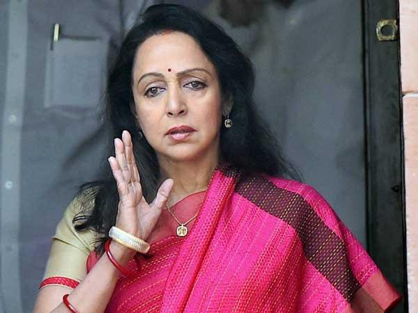 Bjp Mp Hema Malini Blames High Population Mumbai Fire