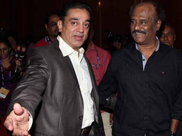 I congratulate my brother Rajini for his social consciousness and his political entry: Kamal Haasan