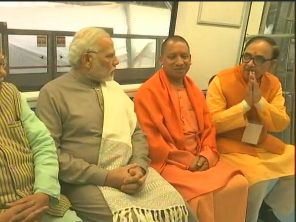 Pm Modi Inaugurates Magenta Line Delhi Metro