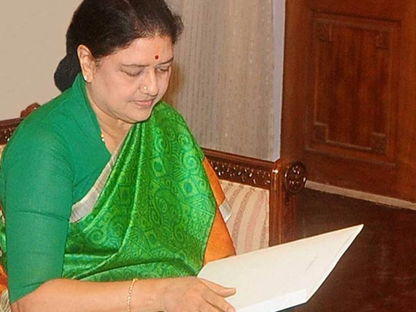 Bangalore prison authorities informed Sasikala that she was summoned by Justice Arumugasamy commission