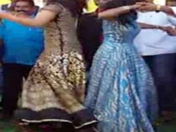 TDP Leaders organized Profane Dances in Ammavari Jatara!