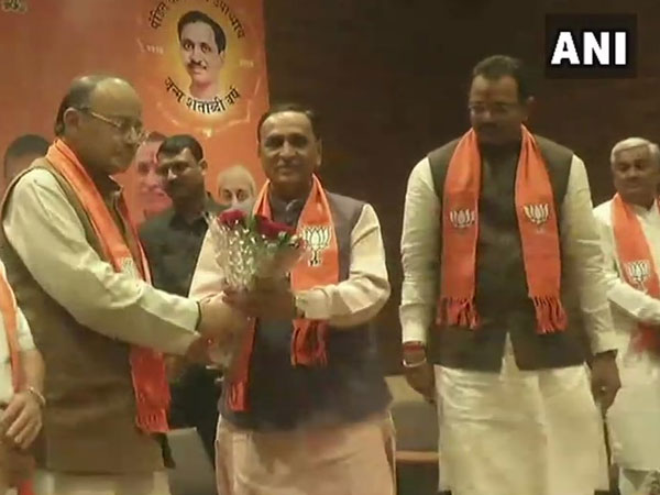 Vijay Rupani to Continue as Gujarat CM, Nitin Patel Remains Deputy