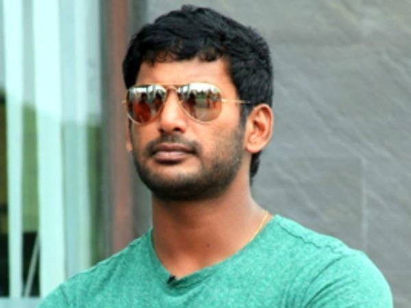Actor Vishal has complained to police that he did not find 2 persons in RK Nagar
