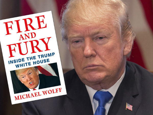 Fire Fury Trump Book Sold On First Day Following Legal Threats