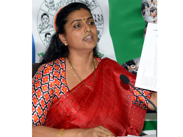 Ysrcp Mla Roja Variety Protest Launches At Puttur