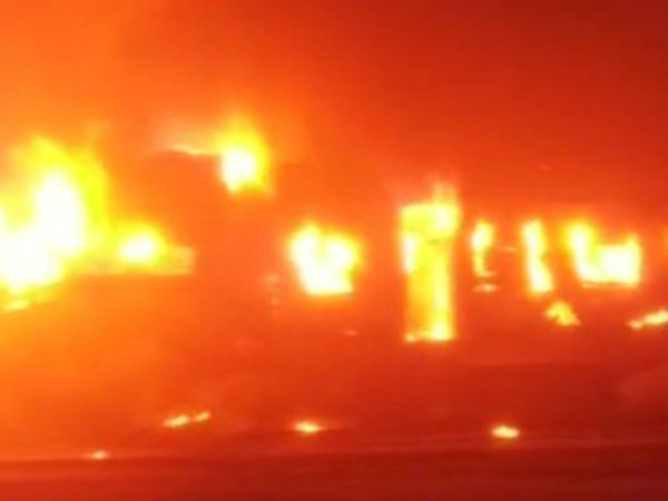 5 bogies and engine of Patna-Mokama passenger train gutted, no casualties