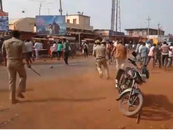 Karnataka Protest Against Koregaon Riots Bidar Turned Violence
