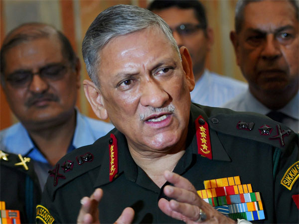 India capable of handling China's assertiveness: Army Chief
