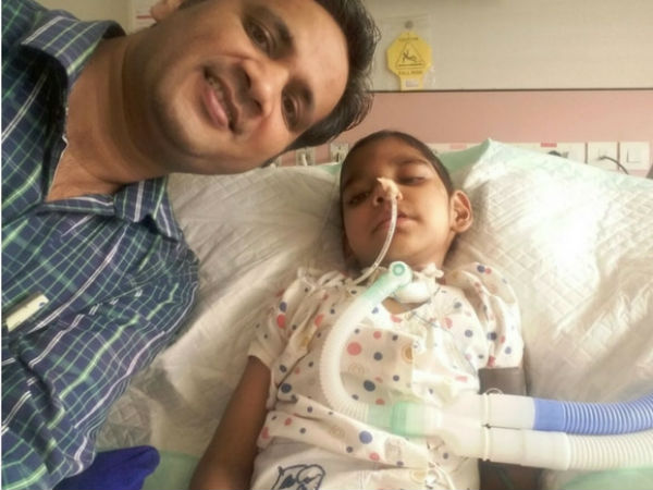 Helpless Father Struggling To Save Son With Brain Tumor & Failed Lungs