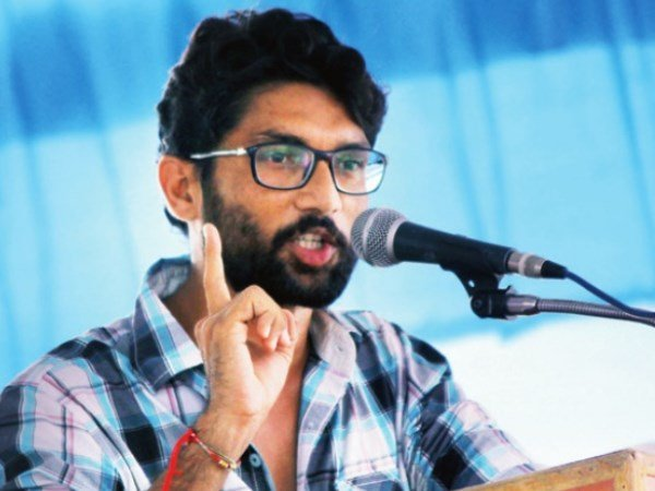 I don't believe in 'love jihad', we're 'pyaar ishq' guys: Mevani at Delhi rally