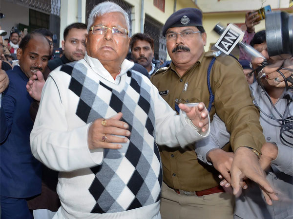 Lalu Yadav Sentenced to Three-and-a-half Years in Jail in Fodder Scam Case