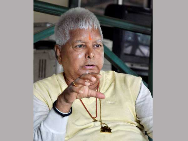 Here's what Lalu Prasad will do in jail to earn Rs 93 per day