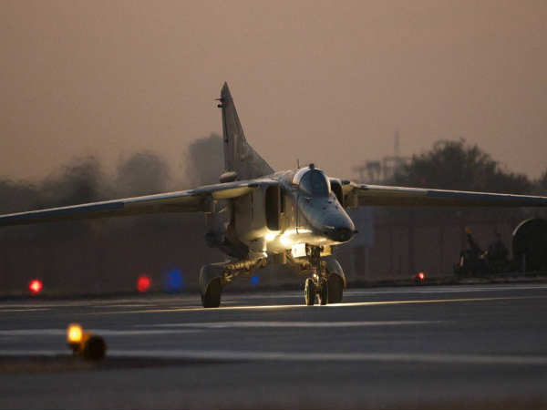MiG-29k fighter plane on training sortie catches fire at Goa airport