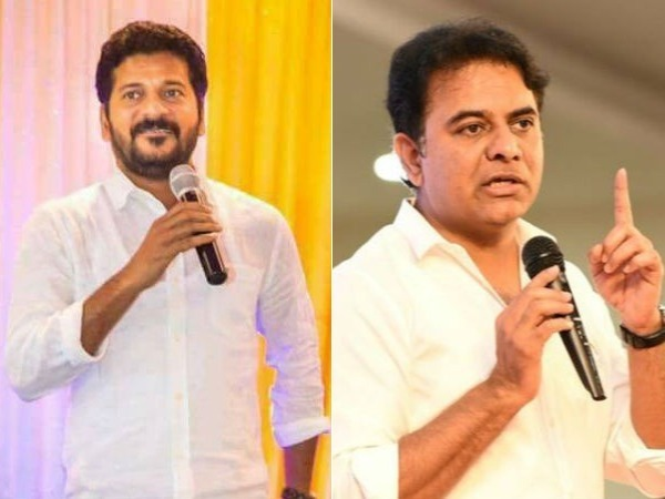 Ktr Retaliates On Revanth Reddy