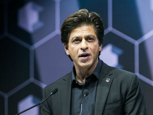 Why was Shah Rukh Khan awarded at Davos?