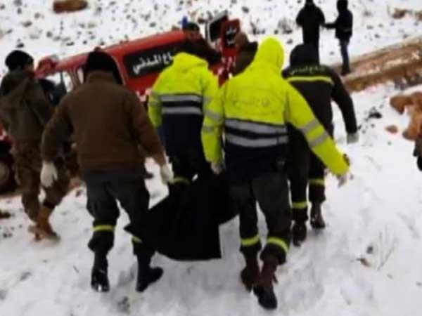 Refugees Found Frozen Lebanon Near Syria Border