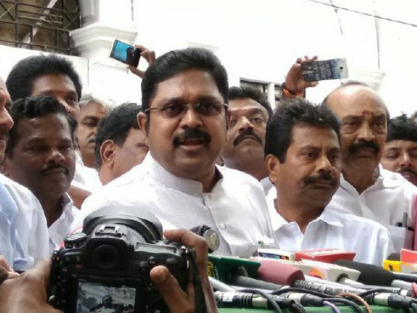 Ttv Dinakaran Plans Fight Back Get Aiadmk