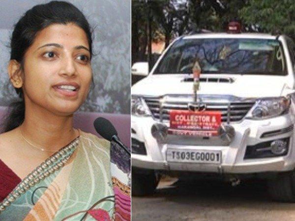'కారు జఫ్తు'పై షాక్, కలెక్టర్ ఆమ్రపాలి స్పందన, వారిపై అసహనం!: అసలేం జరిగింది?
