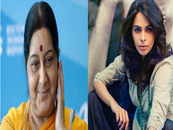 Mallika Sherawat Tweets For Help From Sushma Swaraj