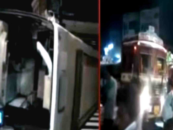 Injured Bus Accident Visakha