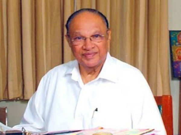 Former Central Minister Bolla Bulli Ramaiah Passes Away