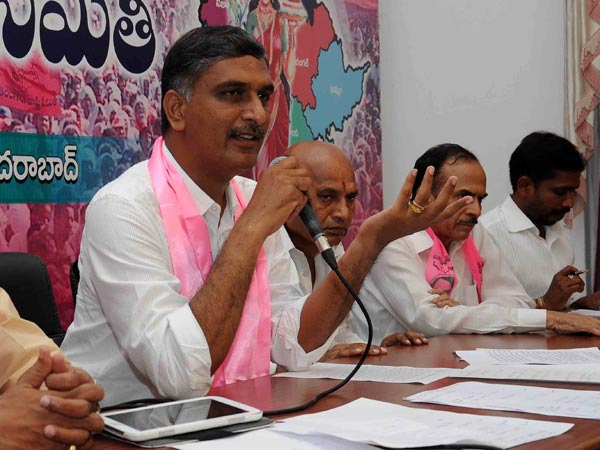 Harish Rao Lashs At Congress