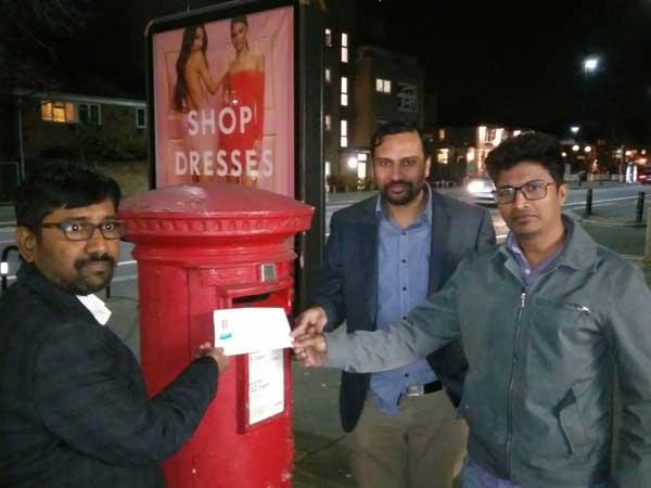 Kodandaram Speaks With London Nri Through Video