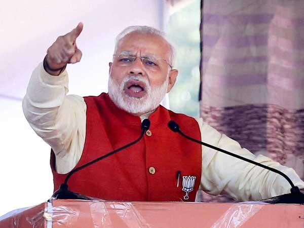 Prime Minister India Narendra Modi Address Farmers Rally Karnataka