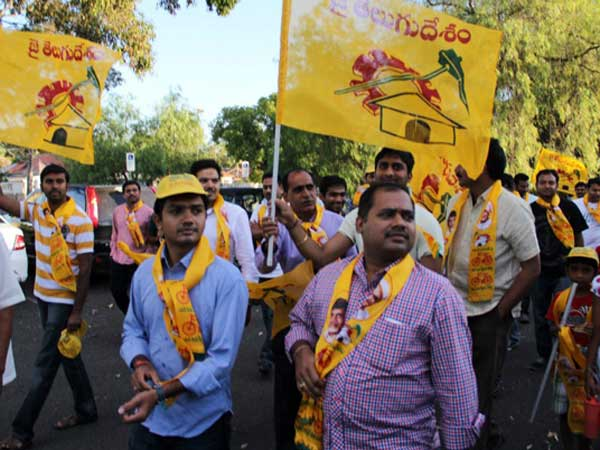 TDP supporters pays fine for not wearing yellow shirt