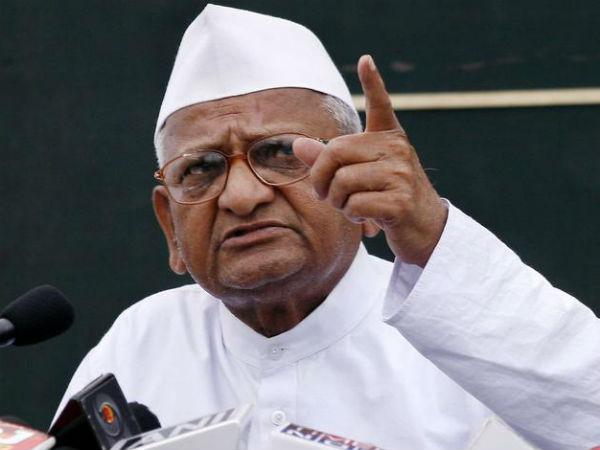 Anna Hazare Begin Satyagraha Today Accuses Centre Cancell