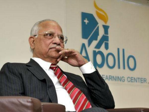 Apollo Hospitals Chairman Prathap Reddy Hospitalised