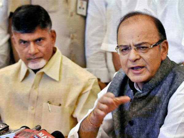 Opponent Allegations On Chandrababu Naidu Over Special Status Demand