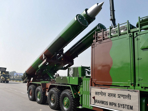 BrahMos sucessfully test fired from Pokhran