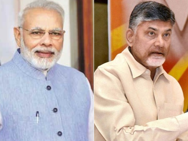 Chandrababu Slammed TDP Leaders regarding Flex Banners on PM Modi