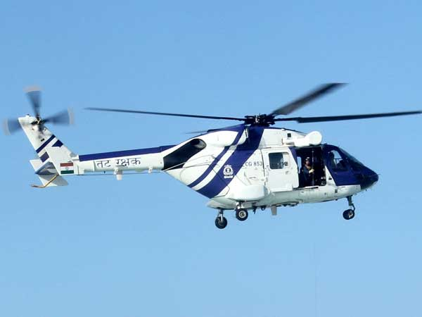 Coast Guard Helicopter Crashes in Maharashtra's Raigad
