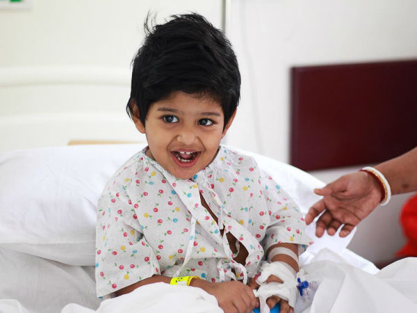 Help By Your Donation to Save Samriti 2 Years Old Kid Who Struggles with Leukemia!