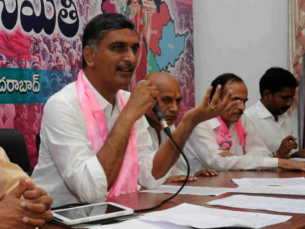 Harish Rao Lashes At Congress Komatireddy