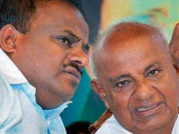 రాజ్యసభ ఎన్నికల్లో కాంగ్రెస్ మద్దతు కోరిన కుమారస్వామి