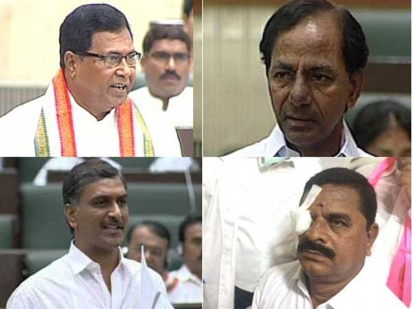 Jana Reddy Uttam Kumar Reddy Fires At Kcr Harish Rao