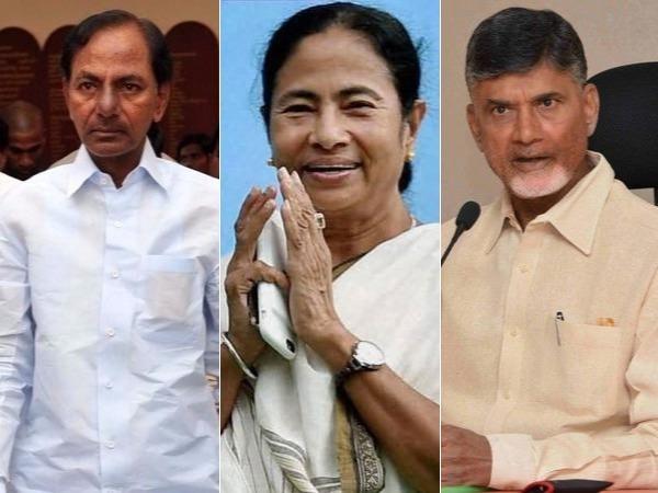 Chandrababu May Prefer Mamata Banerjee S Front Over Kcr