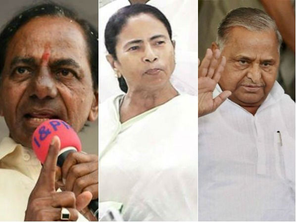 Mamata Banerjee Talks With Mulayam Stalin Kcr S Third Front