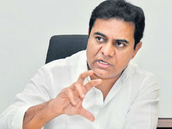 congress leaders dont have right to talk of family rule says ktr