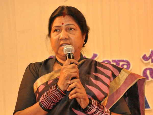 AP rights chief Nannapaneni Rajakumari takes on professor