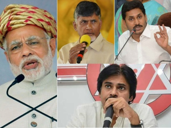 TDP prepping up for an all-round attack on BJP, YSRCP & Janasena