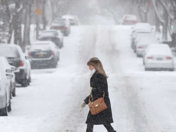 High Winds, Heavy Snow.. Fury on the Northeast America