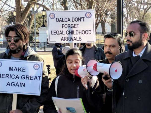 Indian Professionals Hold Rallies End Green Card Backlog Across Us