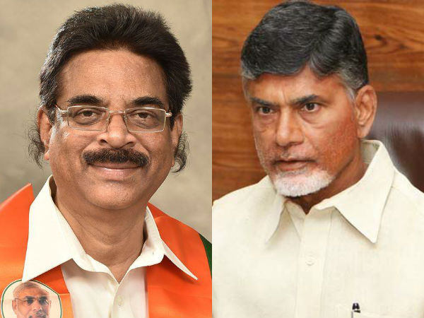 Amarnath Reddy fires at BJP, Haribabu on Chandrababu