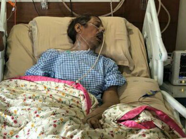 Anam Vivekananda Reddy in extremely critical condition